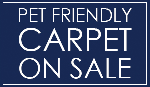 Pet Friendly Carpet on sale this month at Summer's Abbey Flooring Center!